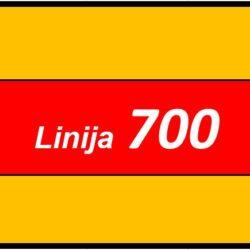 Linija 700 PLINSKA KUHALA