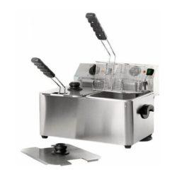 Električna stolna friteza 6+6 litara