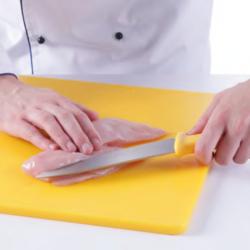 Kuhinjski nož - PLAVA ručka